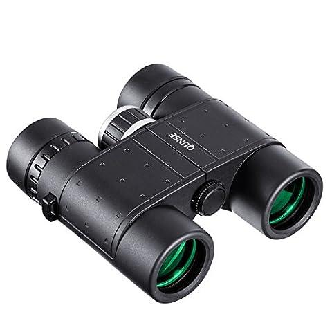QUNSE Mini Jumelles, 8X32 Binoculaire Pour Observation des oiseaux, Léger