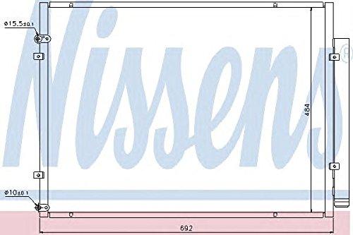 Nissens 940168 Condenser, air conditioning Test