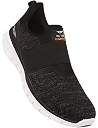 Athleisure Men's Black Synthetic Shoes (203226081) - 9 UK