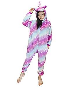 DRESHOW Unicornio Pijamas de un