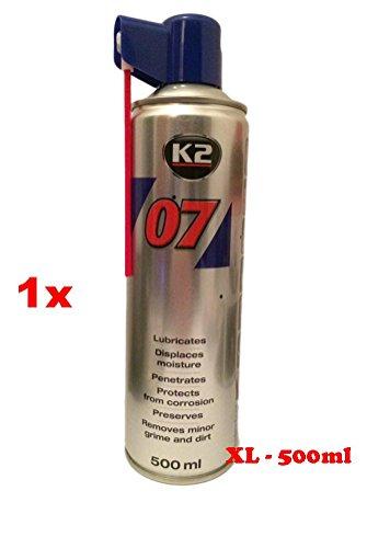 'K2Ausgezeichnete Qualität Schmiermittel, Korrosionsschutz und Rostlöser, Mehrzweck, Spray XL 500ml. Svitol WD40+ 1Wandtattoo PC