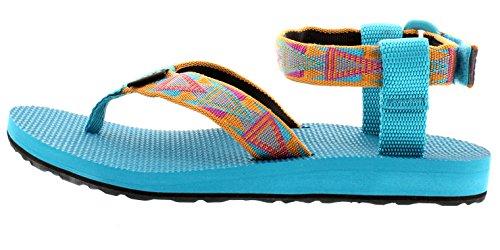 Sandalo Originale Sport Allaperto Mosaico Teva E Ws Rosa Sandalen Damen Arancione 883 SZw54qd