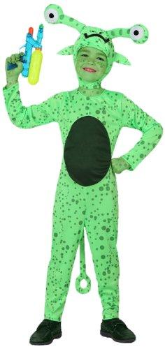ATOSA 8422259160885 8422259160885-Verkleidung Alien, Größe, Jungen, Mehrfarbig, 7-9 Jahre (Alien Schwanz Kostüm)