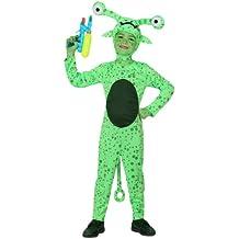 Atosa - Disfraz de extraterrestre para niño, talla L, 7-9 años (111-16088)