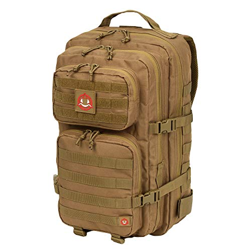 Orca Tactical Rucksack - groß 40 l - 3 Tage Survival Bug Out Bag, Salish 40L, Coyote Brown -