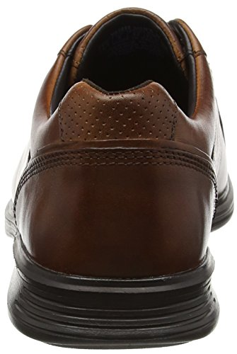 Rockport - Dressports 2 Lite Lace Up, Scarpe basse Uomo Brown (brown Leather)