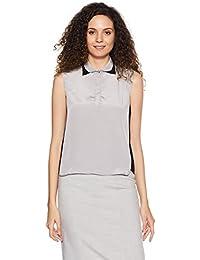Park Avenue Woman Plain Regular Fit Shirt