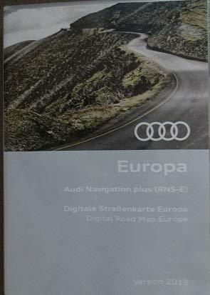 Audi Navi DVD Plus Europa Version 2019 (RNS-E) 8P0060884DD 3g Dvd