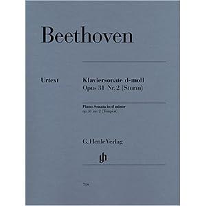 Sonate 17 d-Moll Op 31/2 (Sturm). Klavier