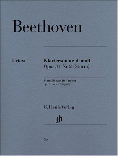 Sonate Op.31/2 ré min. (Tempête)+Préface - Piano