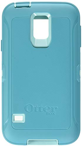 Rugged Protection Otterbox DEFENDER SERIES Case for Samsung Galaxy S5 - Bulk Packaging - (AQUA BLUE/LIGHT TEAL) (Case Otter S5 Box)
