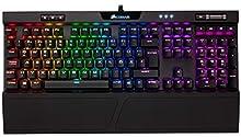 Corsair K70 RGB MK.2 USB QWERTZ Tedesco Nero