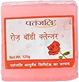 Patanjali Rose Body Cleanser, 125g (Pack of 5)