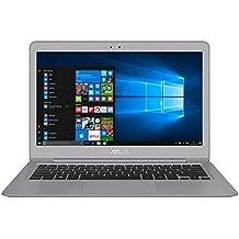 """ASUS UX330UA-GL196T - Portátil de 13.3"""" (Intel Core i7-7500U, RAM de 8 GB, SSD de 512 GB, Intel HD Graphics, Windows 10) metal gris cuarzo - Teclado QWERTY Español"""