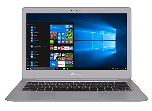 "ASUS UX330UA-GL196T - Portátil de 13.3"" (Intel Core i7-7500U, RAM de 8 GB, SSD de 512 GB, Intel HD Graphics, Windows 10) metal gris cuarzo - Teclado QWERTY Español"