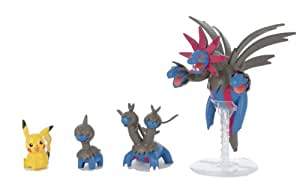 Pokemon Plastic Model Collection Sazandora Evolution Set (Plastic Modelling kit) [JAPAN]