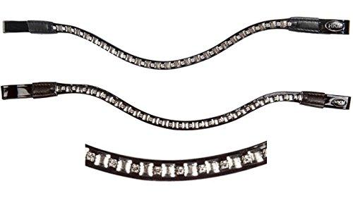 HKM Stirnband -Phoenix-, schwarz, Vollblut -