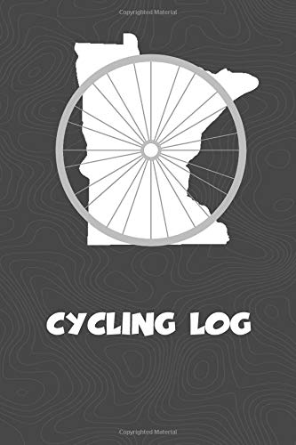 Cycling Log: Minnesota Cycling Log for tracking and monitoring your workouts and progress towards your bicycling goals. A great fitness resource for ... Bicyclists will love this way to track goals! por KwG Creates