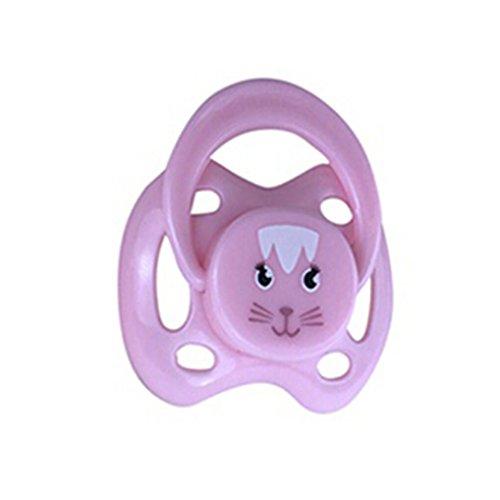 e 1PC Dummy für Reborn Babypuppen mit internem magnetischem Zubehör PK Magnetischer Schnuller der Schnuller Dekompressions Spielzeug Interessantes Neues Spielzeug Baby (B) ()