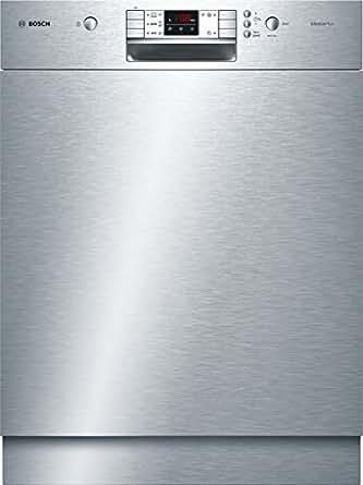 Bosch SMU50L15EU Serie 6 Unterbaugeschirrspüler / A+ / 12 Maßgedecke / Edelstahl / Kindersicherung / VarioSpeed