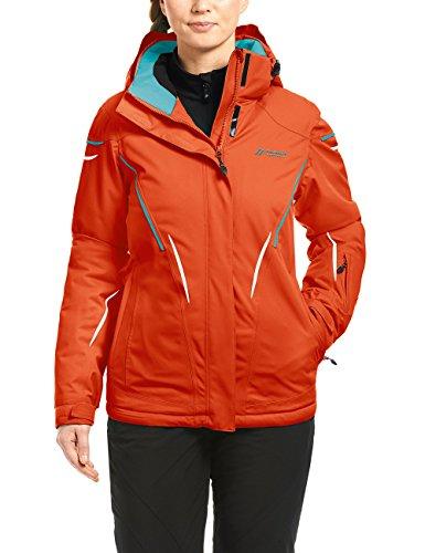 maier sports Damen Skijacke Calgary, Grenadine, 40