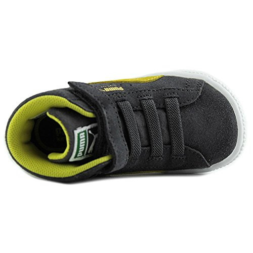 Puma Suede Classic Mid Kids Daim Baskets Periscope-Blazing Yellow