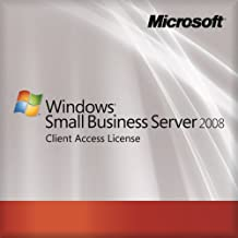 Microsoft OEM Small Business Server 2008 Standard - 5 User CAL (Licence  Only)