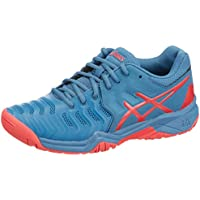 online retailer f8c36 4c4ad ASICS Gel-Resolution 7 GS Junior Tennis Shoes - AW18 Blue