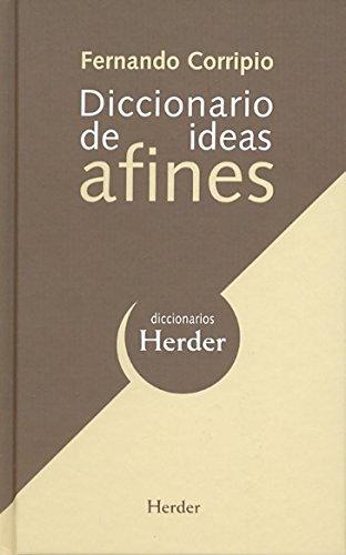 Diccionario de ideas afines (Diccionarios Herder)