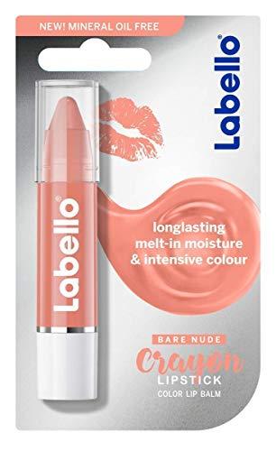 LABELLO Crayon BALSAMO Labbra COLORATO 01 Nude Lipstick