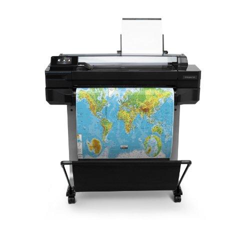 HP Designjet T520 ePrinter Series Großformatdrucker (61 cm (24 Zoll), 2400x1200 dpi, 1GB RAM, WiFi, USB 2.0) schwarz