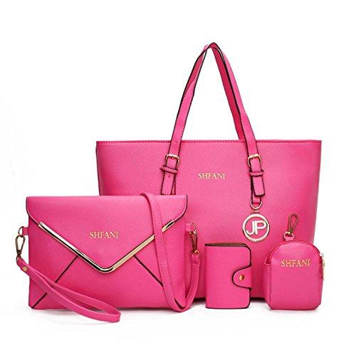 Meine Tasche Im Herbst Neue Handtasche Mode Vier Laptop Beutel Fall Basis pink