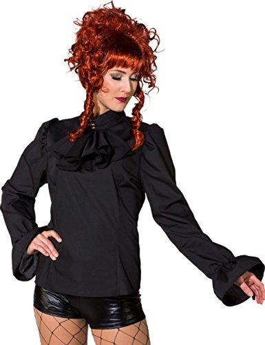 Orlob Damen Kostüm Biedermeier Bluse Steampunk Karneval Fasching Gr.40