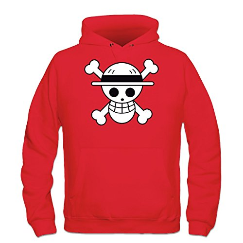 Sudadera con capucha Luffy One Piece