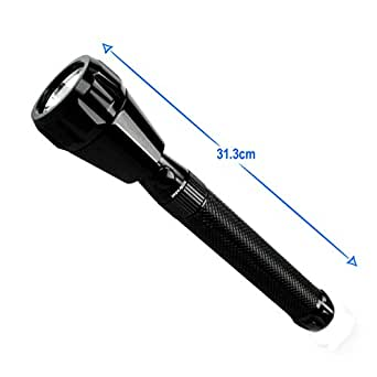 IMPEX Recharcheable Torch flashlight- A3 (Distance covered upto 1600 meters)