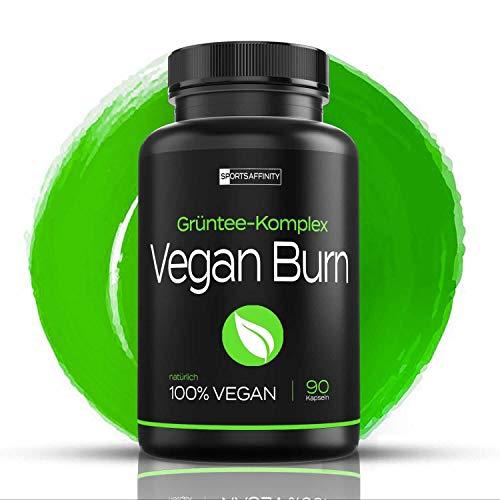 Premium Fatburner - 100% Vegan - Abnehmpillen für Frauen & Männer - Abnehmen Produkte und Tabletten extrem - schnell ohne Sport - vegane Diät Pillen - Grüntee Komplex mit Koffein » Fettverbrenner Kapseln « Hunger Blocker - schneller Appetitzügler zum schlank werden
