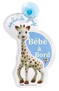 Vulli - 470220 - Flash Bébé à Bord - Sophie la Girafe