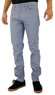 Kayden K Men's Skinny Jean Grey
