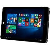 Kiano 31150020,32cm (8pouces) Tablette PC (Intel Atom, 2Go de RAM, Intel HD Graphics, Win 10Noir
