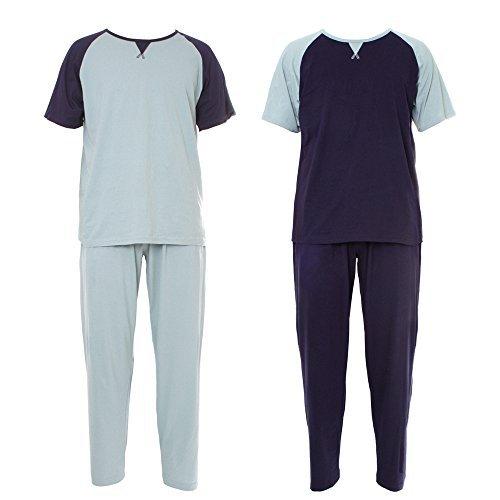 Nuevo para hombre Suave Pijama Perfecto Primavera Verano Ropa Cómoda Transpirable Pantalones m- XXL – CRAZY OFERTA While STOCK Dure