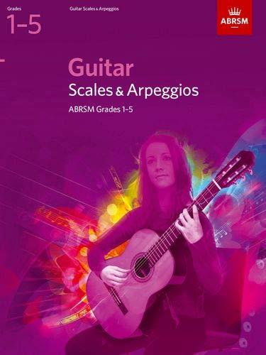 Guitar Scales and Arpeggios, Grades 1-5 (ABRSM Scales & Arpeggios) (1 2 Scale E-gitarre)
