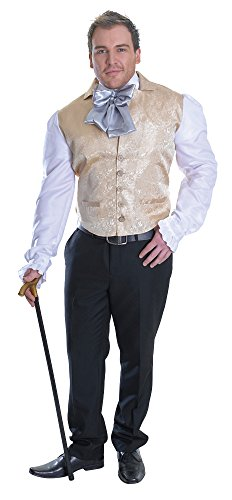 Bristol Novelty AC713 Regentschaft Oberteil, - Prince Charmant Kostüm