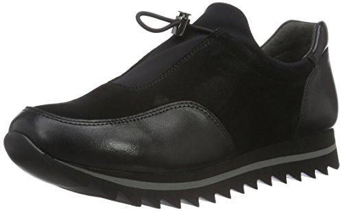 Gabor Shoes 53.301 Damen Slipper Schwarz (Schwarz 37)