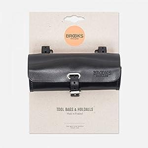 Brooks Challenge - Bolsa de piel para el sillín, color negro negro negro