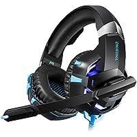 Là Vestmon Auriculares Gaming - ONIKUMA K2-A Micrófono Cascos Juegos Estéreo Reducción de Ruido
