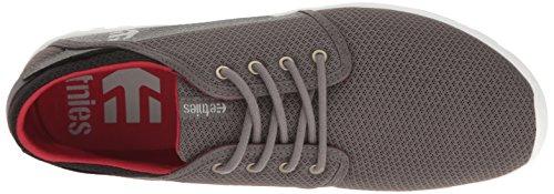 Etnies Scarpe Scout Grey/Black/Red Skate Surf PE17 Grey/black/red