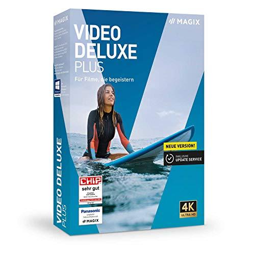 Video deluxe 2020 Plus - Für Filme, die begeistern|Plus|2 Geräte|unbegrenzt|PC|Disc|Disc