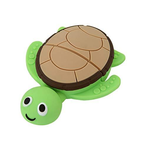 Easyplay - chiavetta usb 2.0 da 32 gb, a forma di maialino verde turtle