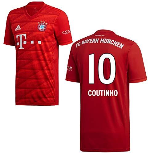 adidas FCB FC Bayern München Trikot Home Heimtrikot 2019 2020 Kinder Coutinho 10 Gr 128