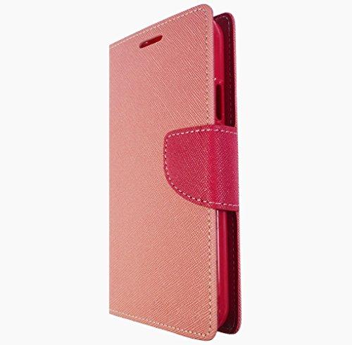 Handy Tasche Flip Cover Hülle Etui Klapptasche Book Tasche Für Samsung Galaxy J1 J100 Grün Blau + Displayschutzfolie Rosa Pink + Displayschutzfolie